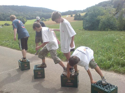 Ober Kainsbach jugendfeuerwehr odenwaldkreis spielenachmittag 40 jahre jf ober